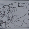 Zeichnung 14, aus: Das kleine bunte Märchenbuch und Geschichtenbuch