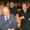 Georg und Dietmar Raffeiner, ganz rechts Dr. Otto Saurer ehem. Landesrat, ehem. Landeshauptmannstellvertreter und Ehrenbürger von Prad
