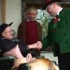 Kapellmeister Alois Kuntner gratuliert