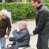 Georg freut sich enorm, wenn Menschen auf der Strasse ihn kennen und grüßen
