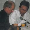 Georg und Dietmar bei der Lesung
