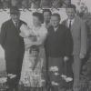 Georg mit Grosseltern Avancini a.d. Nonstal – Brez (TN), Eltern, Tante Maria Edvige und Schwester Christine
