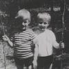 Georg und Bruderherz Richard