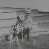 """Georg und """"Wirral"""" (Dalmatinerhund)"""