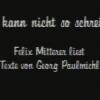 Ich kann nicht so schreiben, abm München