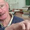 Georg Paulmichl in der Werkstatt Prad, am 12.06.2010