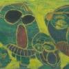 Kratztechnik, 1982, aus Ins Leben gestemmt