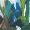 1993, Wiesengrund, Ölfarben, aus Ins Leben gestemmt