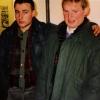 Lesung Georg und Ausstellung BW Prad, Kulturhaus Lana, 1988, Georg und Richard