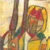 1990, Ölkreide, aus Verkürzte Landschaft, 2003