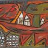 1999, Tempera, ohne Titel, aus Vom Augenmass überwältigt