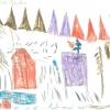 Zeichnung Mals, Schuljahr 1974/1975