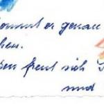 Ausschnitt aus: Korrespondenz Georg und Schwester Margit an Familie, 13.9.1968