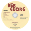 Der Georg – 2008, CD