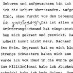 Aus dem Rohrlauf des Lebens - ein Gedicht von Georg Paulmichl