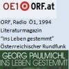 """Literaturmagazin, Buch der Woche """"Ins Leben gestemmt"""", Radio"""
