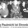 Georg Paulmichl ist Ehrenbürger