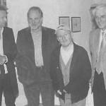 Dietmar Raffeiner, Peppi Tischler, Georg Paulmichl, Rudi Gamper, aus: Dolomiten, 17.10.2005