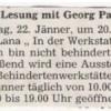 "Georg Paulmichl liest aus ""strammgefegt"""