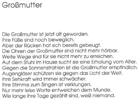 Großmutter, von Georg Paulmichl