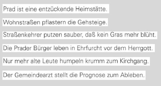 Zitate: Heimatdorf, aus: Ins Leben gestemmt