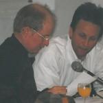 """Georg Paulmichl liest aus """"Vom Augenmass überwältigt"""" - am 16.03.2001, Lesung zur Buchpräsentation, HTL Galerie in Innsbruck"""