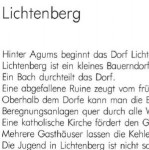 Lichtenberg - ein Text von Georg Paulmichl