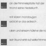 Lyrisches Packpapier, Aktion - Aktion,