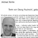 strammgefegt, Nachwort - Texte von Georg Paulmichl, gelesen mit linguistischem Auge. Von Michael Bürkle