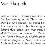 Musikkapelle - ein Gedicht von Georg Paulmichl