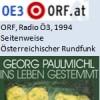 """Seitenweise, Buch der Woche """"Ins Leben gestemmt"""", Radio"""