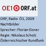 Nachtbilder, Georg Paulmichl, Radio - ORF, Radio Ö1