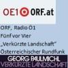 Literaturmagazin, Verkürzte Landschaft, Radio