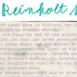 Reinhold Messner - ein Text von Georg Paulmichl