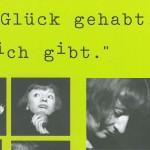 Ich habe Glück gehabt, dass es mich gibt. Petra Afonin, 2003, Bozen - vom 15. bis 17.04.2003, szenische Rezitation, Carambolage