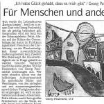 Für Menschen und andere arme Seelen - Artikel, Dolomiten, 19.04.2003