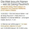 Die Welt braucht Narren – wer ist Georg Paulmichl