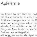 Apfelernte - ein Gedicht von Georg Paulmichl