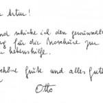 Lieber Artur! - Korrespondenz Otto Paulmichl an Arthur Obwexer
