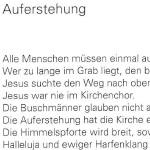 Auferstehung - ein Gedicht von Georg Paulmichl