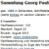 Sammlung Georg Paulmichl
