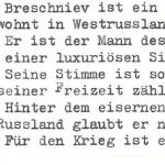 Breschniev - ein Text von Georg Paulmichl
