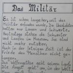 Das Militär - ein Text von Georg Paulmichl