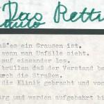 Das Rettungsauto - ein Text von Georg Paulmichl