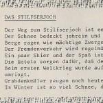 Das Stilfserjoch - ein Text von Georg Paulmichl