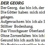 Der Georg - ein Gedicht von Georg Paulmichl, Lebenslauf