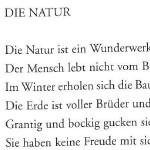 Die Natur - Gedicht von Georg Paulmichl