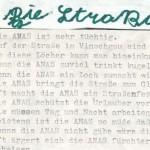 Die Straßenverwaltung - ein Gedicht von Georg Paulmichl