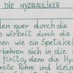 Die Hydrauliker - ein Text von Georg Paulmichl