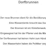 Dorfbrunnen - ein Gedicht von Georg Paulmichl